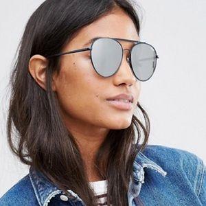 Quay Likety Split Aviator Sunglasses